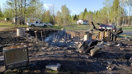 Waterhen Lake First Nation house fire