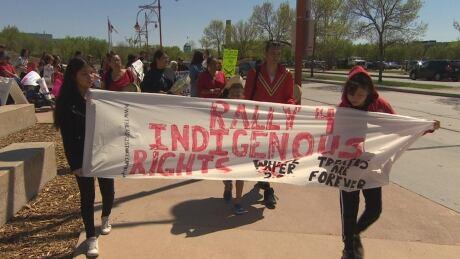 Rally 4 Indigenous Rights Winnipeg