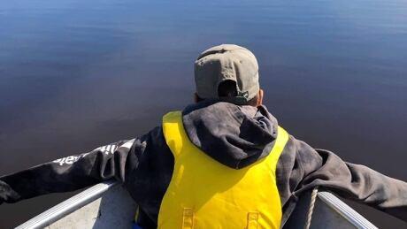 Buffalo River Land-Based Program student fish camp boat youth water
