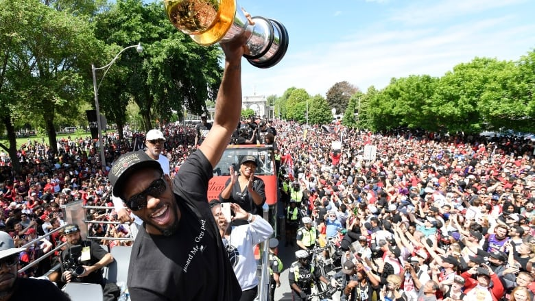 Image result for kawhi parade
