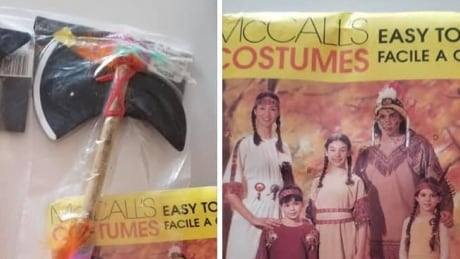 'First Americans' costumes from Buy Nothing group