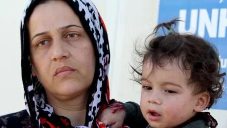 Syrian Kurds in Domiz camp