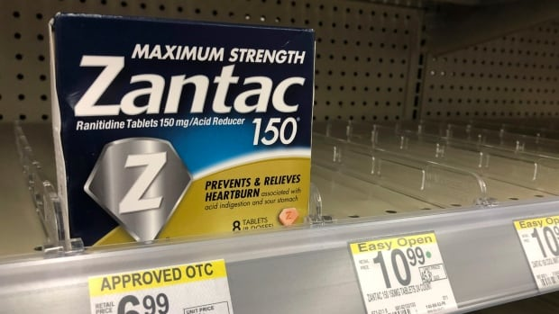 Heartburn drug Zantac recalled in Canada, U.S. over contamination fears | CBC News