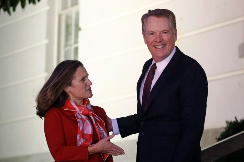 us canada mexico trade - Freeland heads to Mexico to finalize NAFTA changes