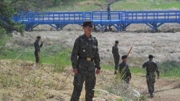 North and South Korea exchange gunfire across border at guard post | CBC News