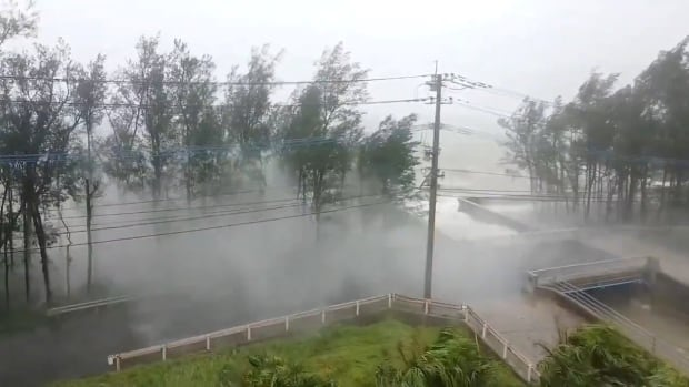 Typhoon Haishen hits Japan with high winds and power outages | CBC News