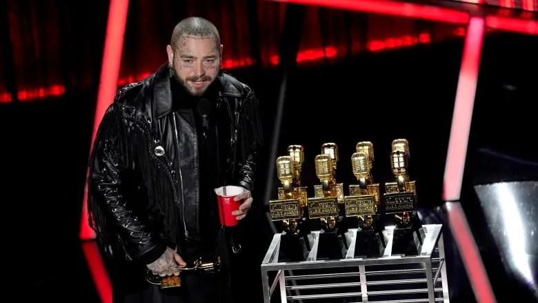 Kanye West, Post Malone Win Big At 2020 Billboard Music Awards Winners - Full List