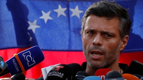 Venezuelan opposition politicianLeopoldo Lopez flees country