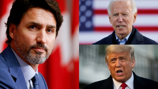 Trudeau says he won't comment on U.S. election until results are 'sufficiently clear' | CBC News