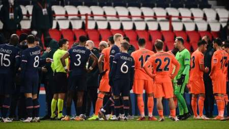 PSG, Basaksehir Players Walk Off Field After Alleged Racial Slur In  Champions League Game | CBC Sports