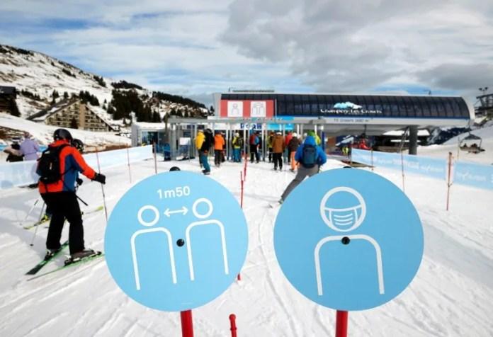 health coronavirus france swiss ski