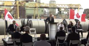 ArcelorMittal Dofasco receives 0 million from Ottawa to reduce greenhouse gas emissions