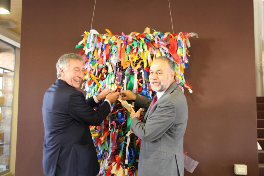 IMG 4127 Bonomi Minelli Opera The Ribbon Hub Nastri Inaugurazione