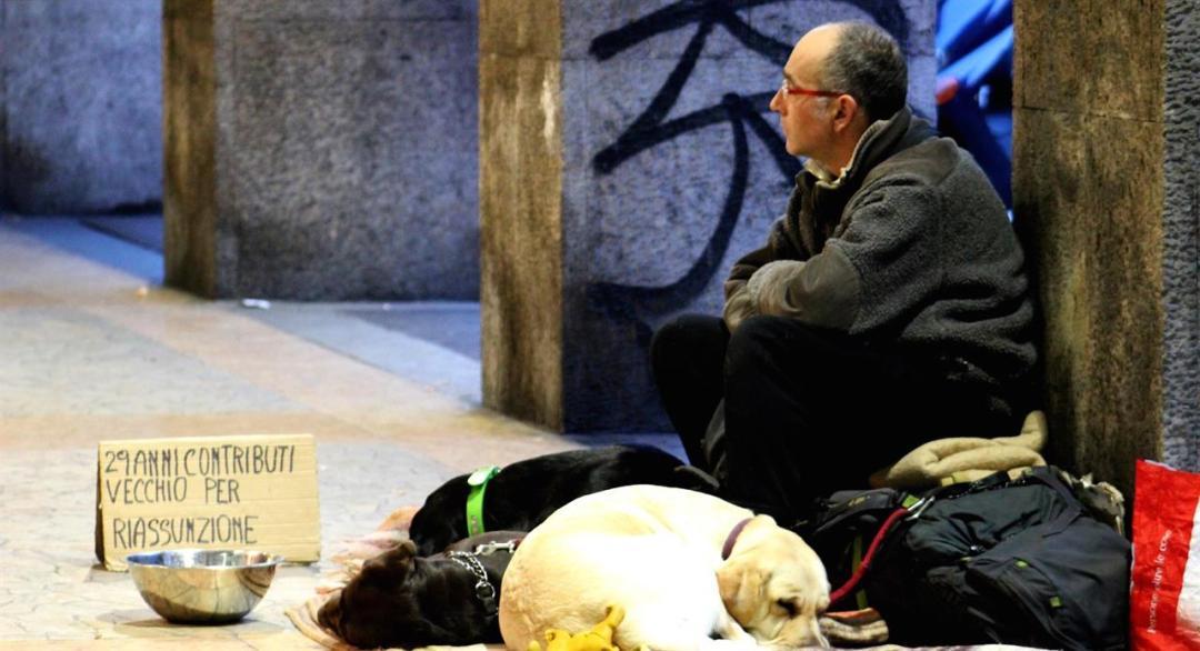 Homeless ©Sara Vaccari Pixabay Ok