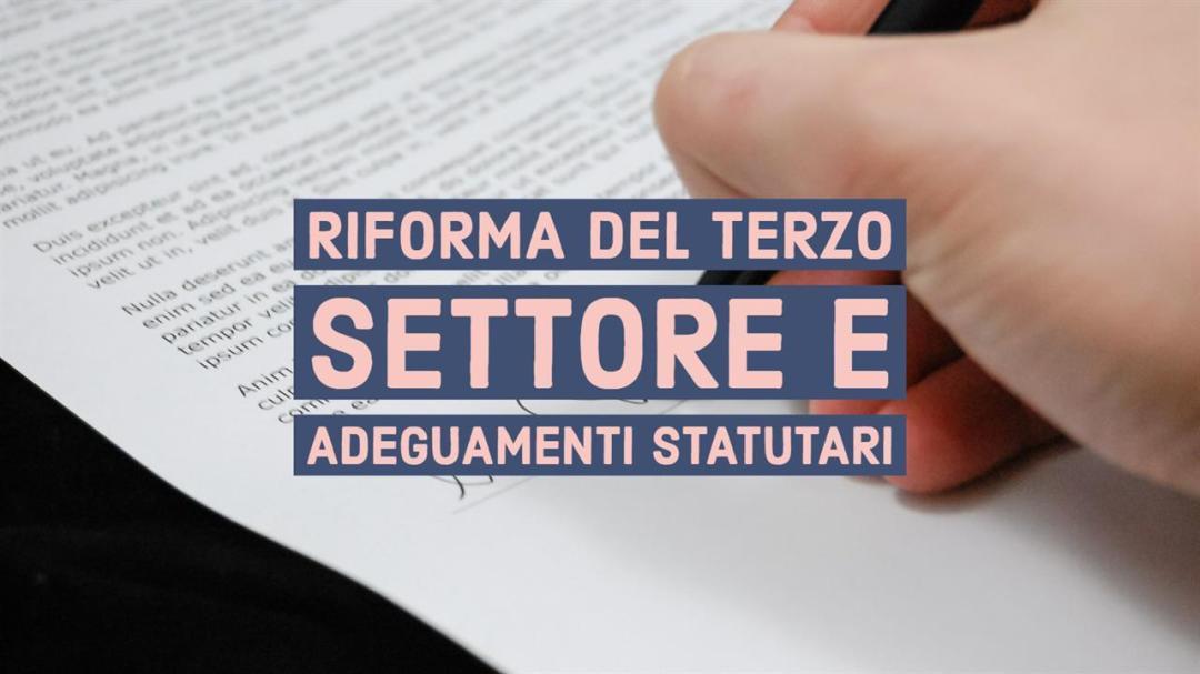 Adeguamento Statuto