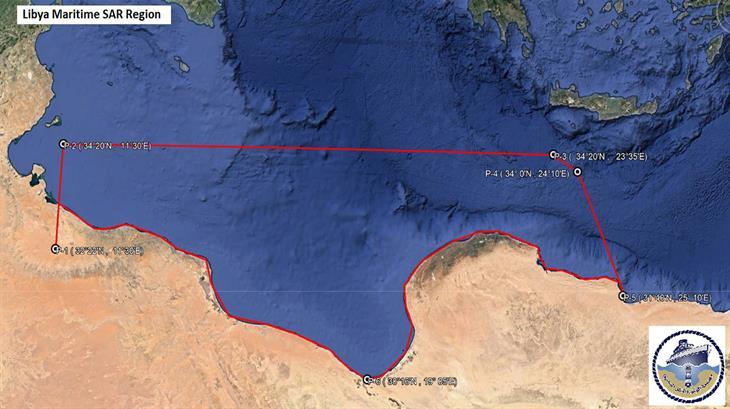 Libya Maritime SAR Region 2