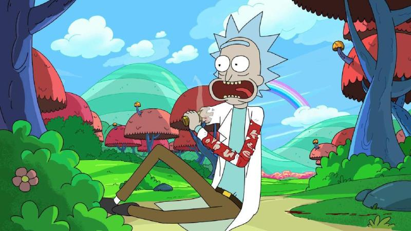 Rick Sanchez Rick and Morty