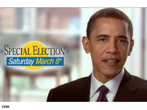 Barack Obama appeared in an ad for Democrat Bill Foster.