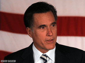 Romney had some sharp words for Obama.