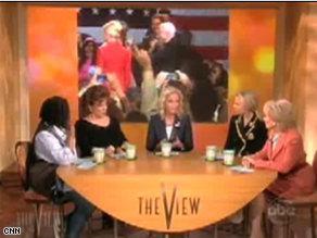 Cindy McCain appeared on The View Monday.