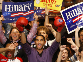Did Clinton's win come too late?