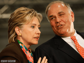 Rendell has been a powerful Clinton surrogate.