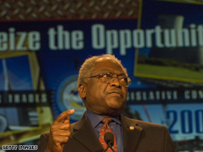 Clyburn has been critical of former President Bill Clinton.