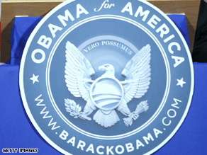 The Obama campaign is no longer using the above logo.