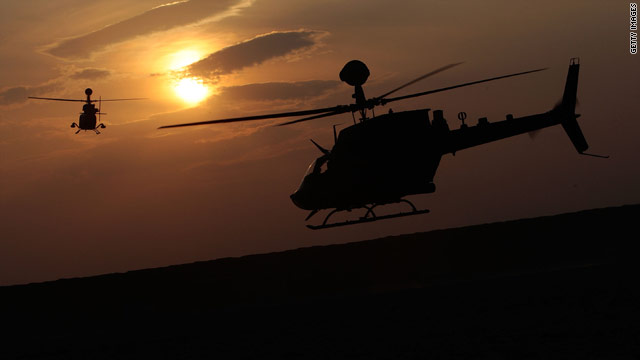 Helicopters over Afghanistan