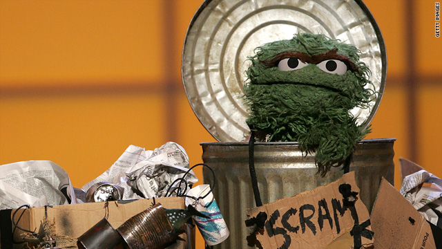 "When ""Sesame Street"" premiered, Oscar the Grouch was much grouchier than he is today."