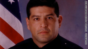 Officer Martin H. Escobar has filed a lawsuit over the state of  Arizona's new immigration law.