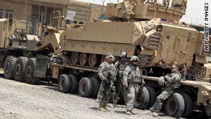 U.S. combat troops must withdraw from Iraq by the end of this month, and all American troops must be out 2011.