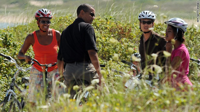 First Family to return to Martha's Vineyard for vacation