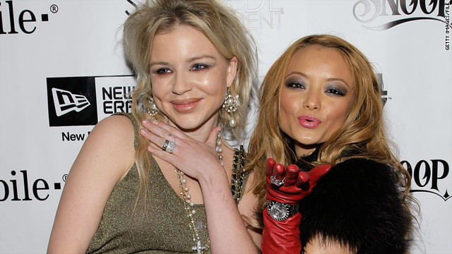 Casey Johnson, the heiress to the Johnson & Johnson, left, was first reported to have died by Tila Tequila.