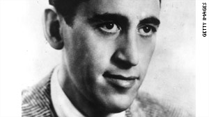 Reclusive author J.D. Salinger, pictured in 1951, was best known for the novel 'The Catcher in the Rye.'