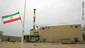Pictured is the building housing the reactor of the Bushehr nuclear power plant in Bushehr, Iran.