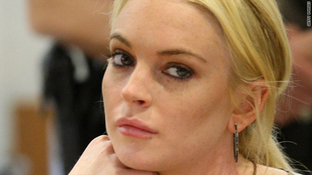 "In sending Lindsay Lohan to jail, the judge said  she  might behave better after seeing ""how truly needy women ... have to live."""