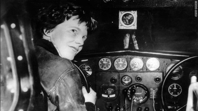 Earhart disappeared near the island of Nikumaroro in 1937 while flying around the world with navigator Fred Noonan.