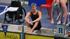Weggemann wants seven individual golds at London. She's the world record holder in five of those events, champ in six.