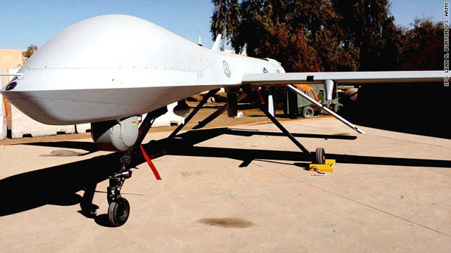"U.S. Defense Secretary Robert Gates said Predator drones offer a ""modest contribution"" to NATO efforts in Libya."