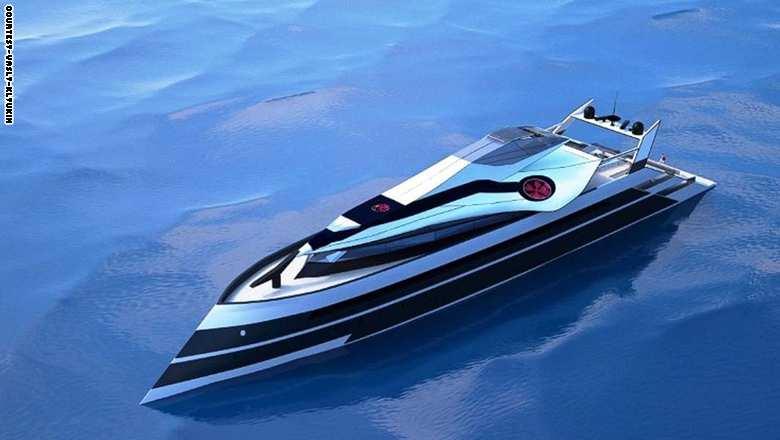 """اليخت """"موناكو 2050"""" من تصميم من الروسي فازيلي كليوكين"""