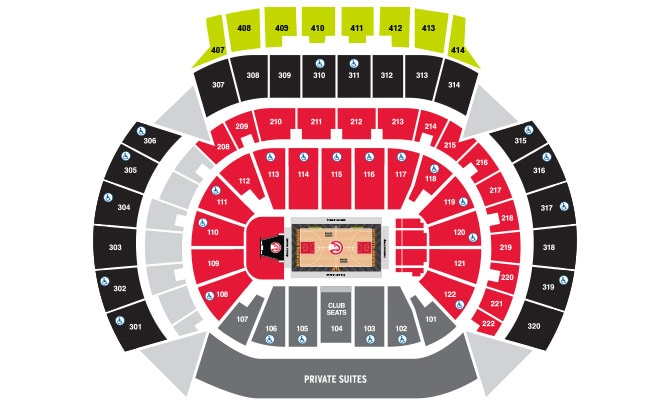 Philips Arena Floor Chart | Wikizie.co