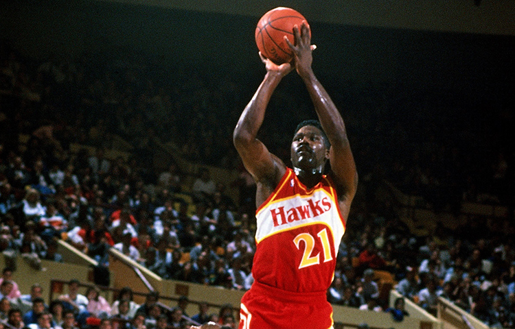 Image result for dominique wilkins hawks