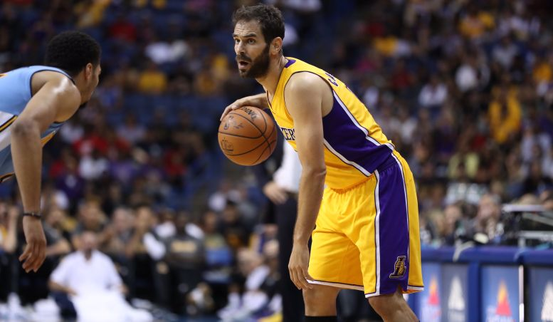 Image result for jose calderon lakers