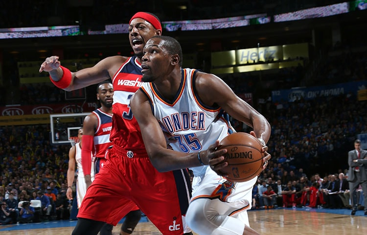Image result for thunder vs wizards