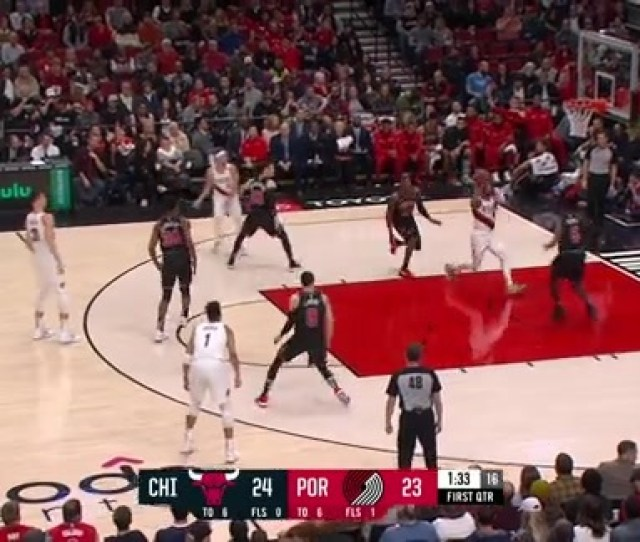 Beautiful Ball Movement Results In Two Points