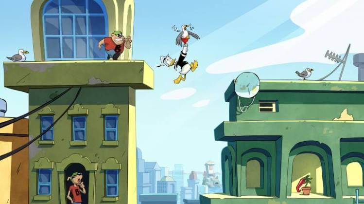 Leider ist dieses schöne Duck Tales-Spiel noch nicht fertig