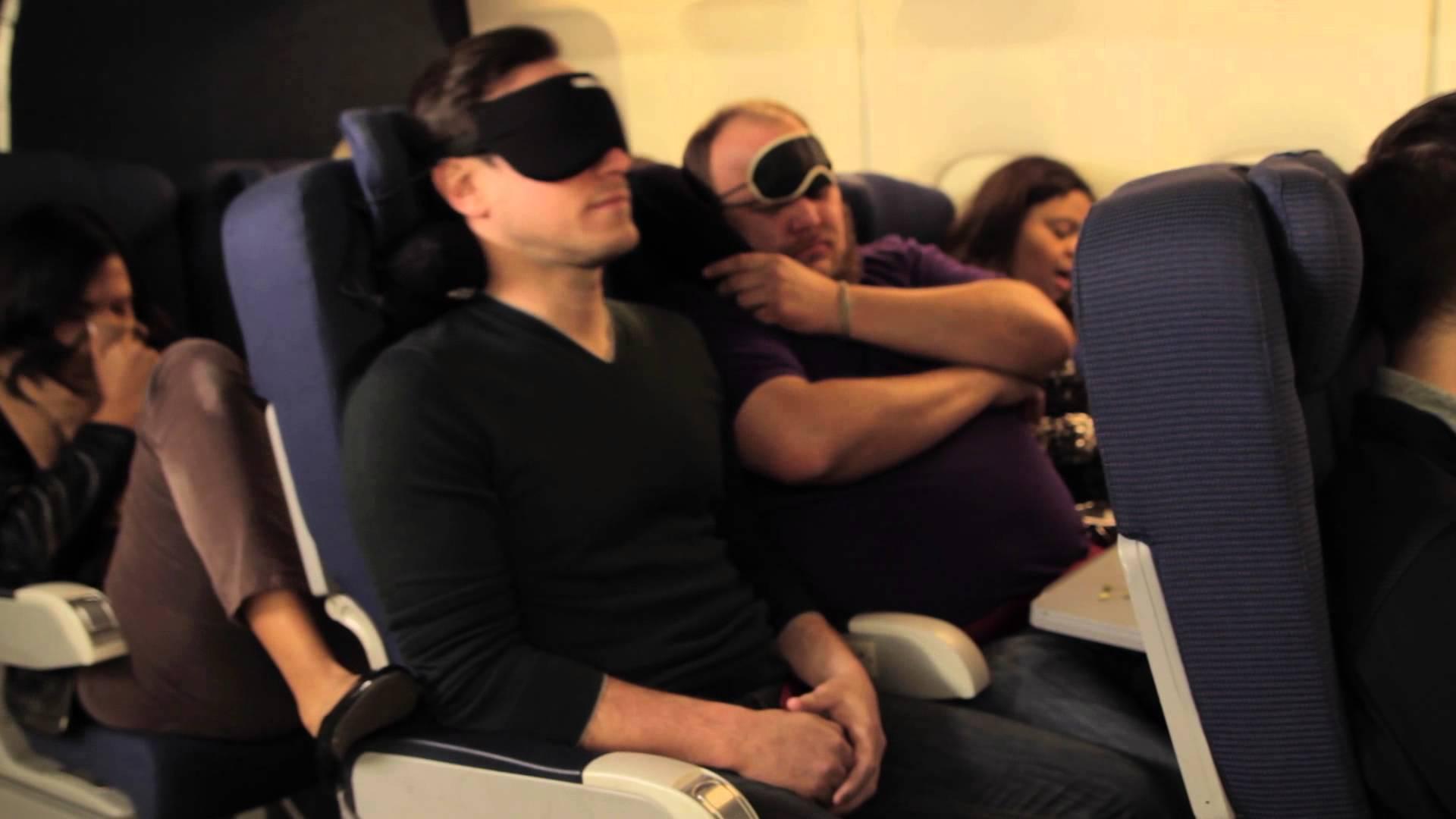 airplane travel pillow kit