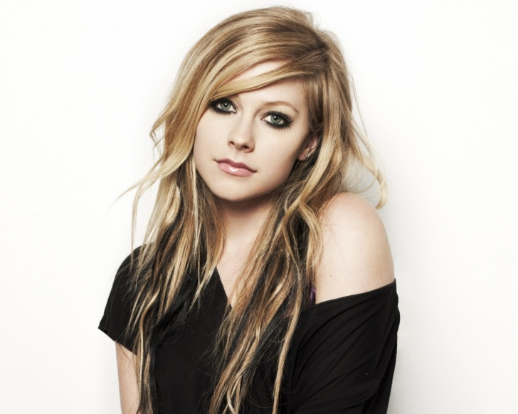 Avril Lavigne Eye Makeup Cartooncreative