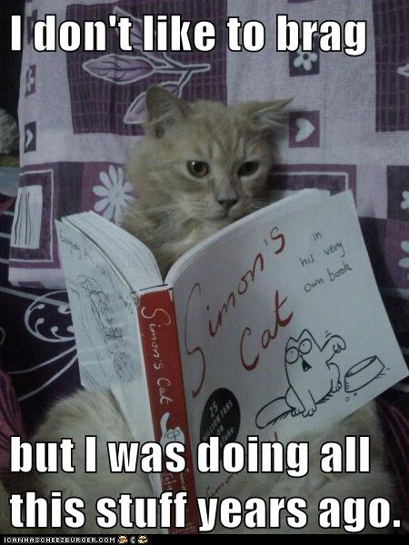 Lolcats: I Don't Like to Brag